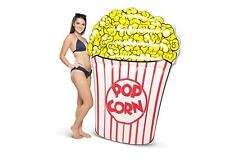 Giant Popcorn Pool Float 5 Foot Cushy Tanning Pool Party Movie Fan Gift BMPF-PO