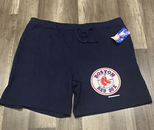 VINTAGE DEADSTOCK CHAMPION BRAND MLB BOSTON RED SOX DRAWSTRING SHORTS SZ L