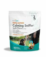 Dog Calming Daily Chew Treats. (60) - Provides Anxiety Relief, Reduces Stress, a