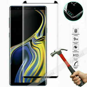 9D/5D/UV Liquid Full Tempered Glass Film For Samsung Galaxy S10 S9 S8 Note 9 LOT