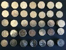 50P COINS CIRCULATED BEATRIX POTTER/PADDINGTON /SHERLOCK HOLMES/OLYMPICS/BREXIT