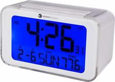 Ambient Weather Battery Power Atomic Travel Alarm Clock with Temporary Backlight