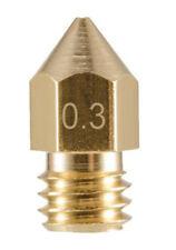 Ugello estrusore in ottone 0,3mm M6 per stampante 3D prusa reprap MK7 makerbot