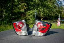 2003-2005 Toyota Celica Driver and Passenger LH RH Tail Lights Silver Red