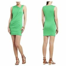 NEW BCBG MAX AZRIA Ainsley Shirred Sleeveless Dress NJR60B30 SIZE LP $138
