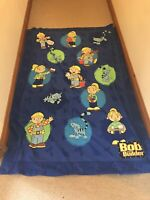 Vintage Bob The Builder Duvet Cover One Pillow Case Single Bed