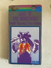 Land of the Minotaurs VHS United American Video Corp HORROR rare The Devil's Men