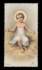 "santino-holy card""""ediz. NB serie E n.6037 GESU' BAMBINO"
