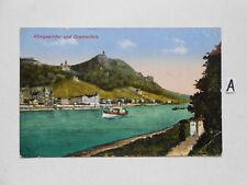 Postkarte Ansichtskarte.Königswinter und Drachenfels