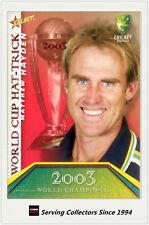 2007-08 Select Cricket Cards World Cup Hat Trick WSC21 Matthew Hayden