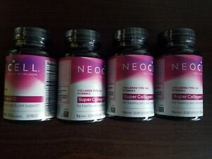 4 Neocell Super Collagen + C Healthy Skin, Hair, Nails & Joint Support 120 11/21