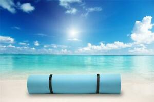Layer Floating Oasis Blue Water Pad 9 x 6 Water Sports Mat Float Island
