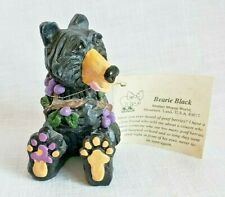 Bearie Black bear eating poof berries Mother Moose World collectible figurine