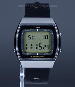 Casio 103 A203 Quartz Digital, Blue Thunder, LCD Alarm Chronograph, Vintage 80's