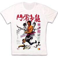 Enter The Dragon Bruce Lee 73 Movie Retro Vintage Hipster Unisex T Shirt 1252