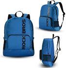 ROCKBROS Waterproof Mini Foldable Backpack Hiking Cycling Outdoor Bag Blue