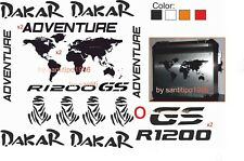 KIT ADESIVI STICKER  BMW R 1200-1150-1100-f800GS VALIGIE ADVENTURE DAKAR