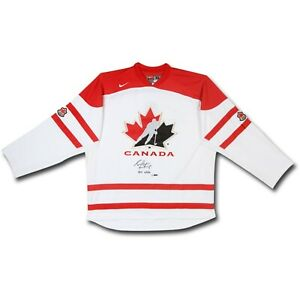 """Sean Couturier Signed Autographed Team Canada White Jersey """"2011 WJHC"""" #/14 UDA"""