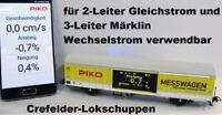 Piko 55050 Messwagen AC+DC verwendbar App für Messdaten Piko Home