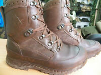Haix Brown Military Issue Goretex Lined MTP Combat Boots Grade 1