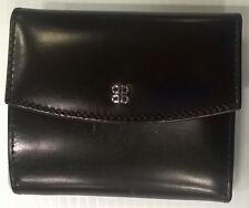 Bosca Old Leather Soft French Purse with Frame - Black - 2214-59
