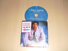 Craig David – Fill Me In CD Single cardboard sleeve