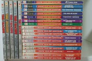 22 CHOOSE YOUR OWN ADVENTURE BOOKS