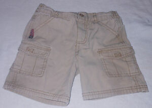 Boyz Wear Cargo Shorts MVP Baseball Toddler Boys Tan Cotton 24 Months Bottoms