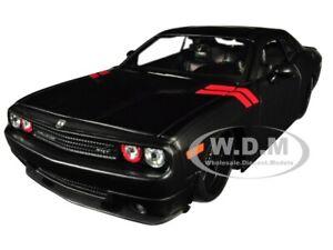 2008 DODGE CHALLENGER MATT BLACK 1/24 DIECAST MODEL CAR BY MAISTO 32529