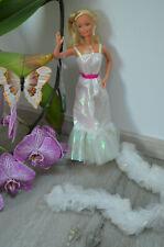 Barbie : vintage 80s crystal doll barbie puppe mit Anhänger !!!
