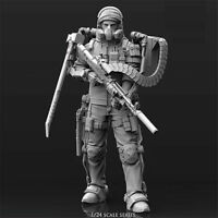 1/24 Mechanical warrior Resin Kits Unpainted Model GK Unassembled in stock New