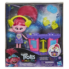 More details for dreamworks trolls world tour party dj poppy fashion doll with musical dj station
