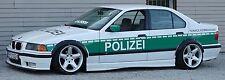 BMW E36 4-doors wide body kit. ABS plastic fender flares set. 4 pieces.