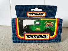 MATCHBOX - FORD VAN - ROWNTREES - SMALL SCALE - 'RARE BOXED'- 1981 - MB38