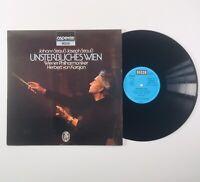 Johann Strauss Herbert von Karajan Vienna Philharmonic LP Album Vinyl Record