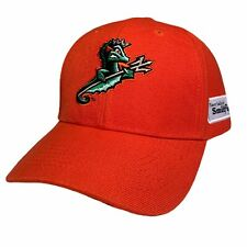 Norfolk Tides Milb Baseball Hat Cap Adjustable One Size Minor League Orange