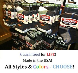 Darn Tough Men's Socks Size LARGE- Choose Style & Color- NEW! Free Shipping!