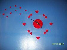 Love-Heart Wall Decor Clock