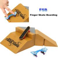 For Tech Deck Fingerboard Mini Finger Skate Board Slope Stair Ramp Ultimate Park