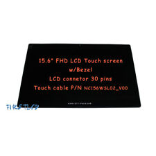 """15.6"""" FHD HP Omen P/N:811202-001 LCD LED Touch Screen Assembly Repalcement+Bezel"""