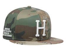 Huf Worldwide Skateboard Cap Hat New Era 7 3/8 Multi Classic H Woodland Camo