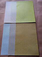 12 Sheets of Craft Backing Paper Approx A4 (5)