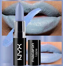 NYX MACARON LIPSTICK - EARL GREY - PASTEL POWDER BLUE - MATTE - SATIN