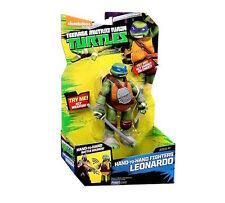 Teenage Mutant Ninja Turtles a mano a mano Fighters-Leonardo Figura