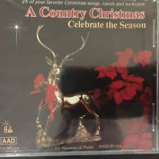 A Country Christmas, Audio CD, 1992, Celebrate the Season, 25 of Your Favorites