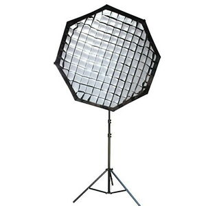 """Neewer Octagon Softbox 30""""x30"""" with Grid Bowens Mount and  Beehive"""