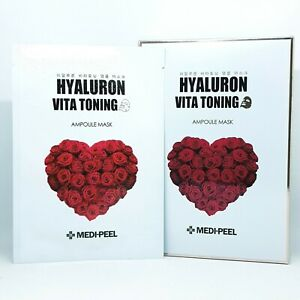 Medi Peel Hyaluron Vita Toning Ampoule Mask 30ml x 10ea Anti Aging K-Beauty
