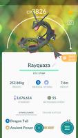 Pokemon Trade GO - Shiny Rayquaza Level 40 for PVP Master League