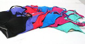 Pack Of 3 Women Gym Sports Bra Vest Crop Tops Seamless Yoga COMFORT Bra