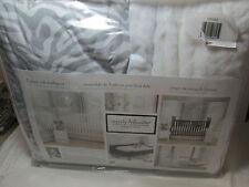 3 pcs Wendy Bellissimo LITTLE SAFARI Nursery Crib Bedding Set - Grey, White, Tan